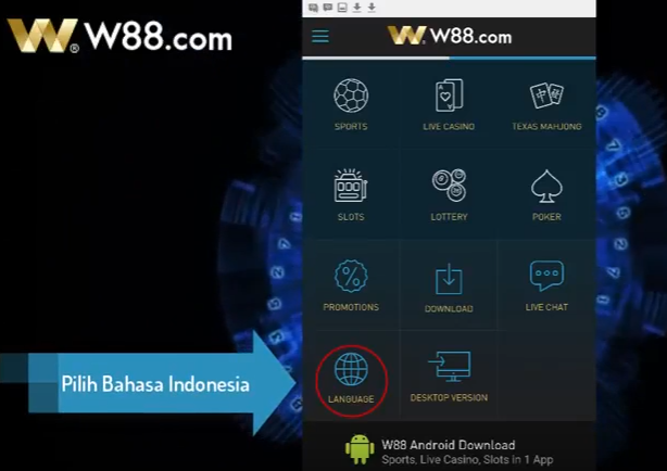 Download W88 Android