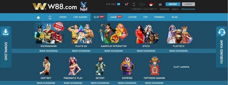 Permainan Mesin Slot Online Populer
