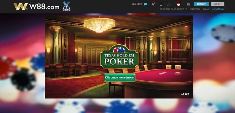 Mengenal Permainan Poker W88 Melalui Review