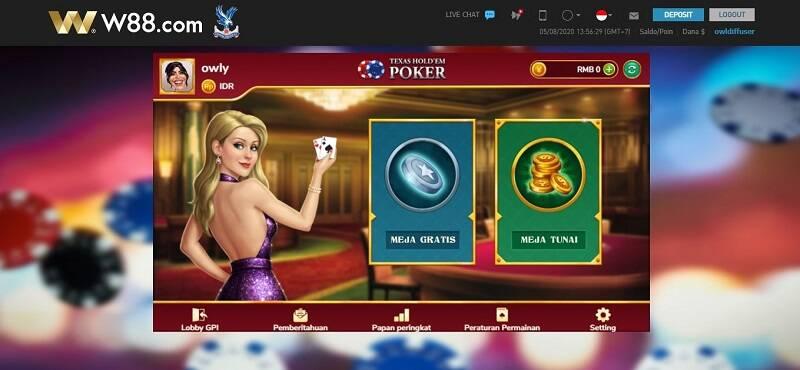 Belajar Bermain Poker Online di W88 Review