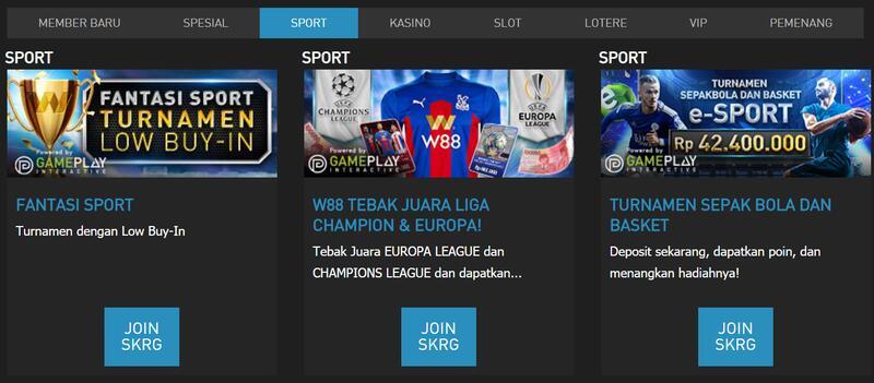 Promosi Terkini Situs Taruhan Bola Online Terpercaya W88
