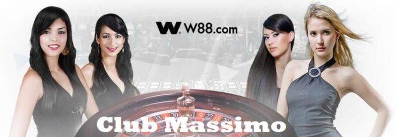 Ruang Kasino W88 Club Massimo Ala Eropa Klasik